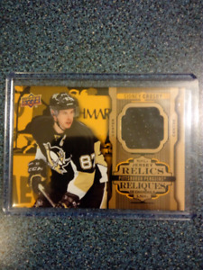 2017/18 Tim Horton's Sidney Crosby Relic Card