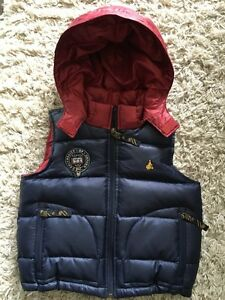 Like NEW Warmest quilted down filled vest