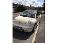 Vw beetle reduced for quick sale as need space on drive