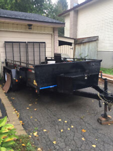 12' 2017 Utility Trailer for sale