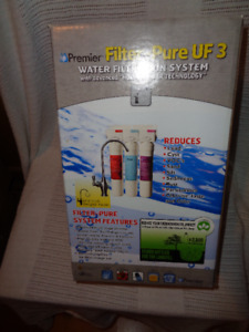 Premier Filter-Pure UF 3 Water Filtration System