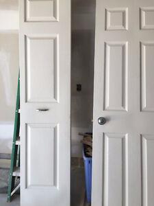 Linen closet doors for sale