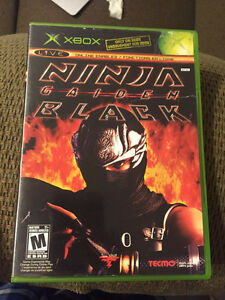 Ninja Gaiden Black (Xbox) DAMAGED DISC - Must Repair Gatineau Ottawa / Gatineau Area image 1