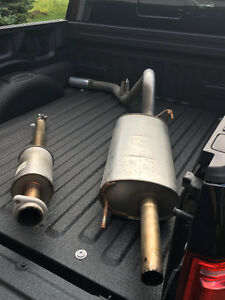 2015 to 2017 Ford F150 Cat Back Stock Exhaust
