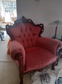 Italian style sofa and coffee table £60 whole lot