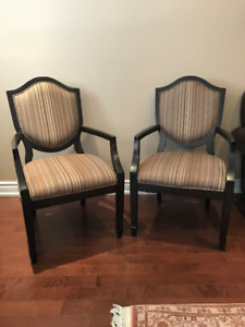 MOVING SALE: ACCENT CHAIRS