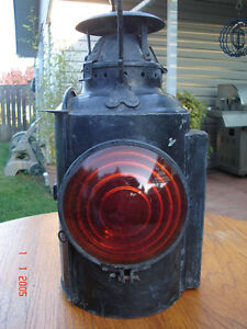 Vintage Canadian Piper Railway Lantern