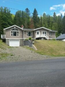 In the Capital of snowmobiling.  Very nice Home for sale