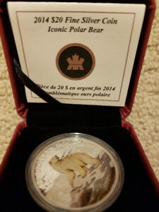 $20 Polar Bear coin - Royal Canadian Mint