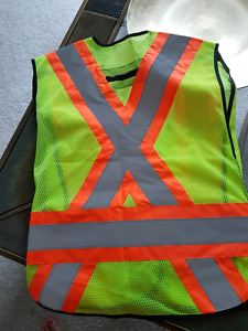 Safety Vests   One Size and 2XL