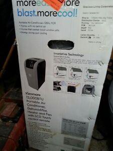 BRAND NEW 12,000 BTUs Portable Air Cond/Dehumidifier/Heater