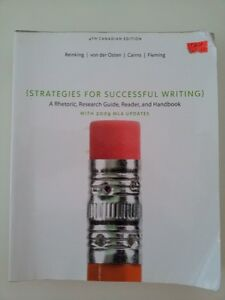 STRATEGIES FOR SUCCESSFUL WRITING (The canadian Edition)