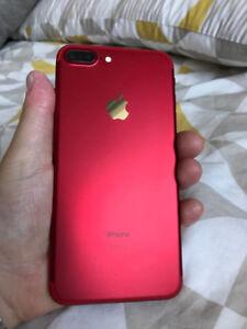 128 GB iPhone 7 Plus in Red