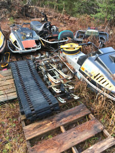 1974-1976 Skidoo Parts - Chassis