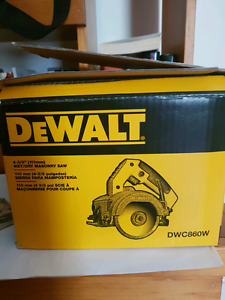 for sale. 110 mm wet/dry masonry saw. never used.