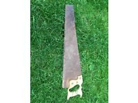 Wanted. Old wooden handled wood saws