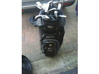 Golf clubs full set, ping , john letters