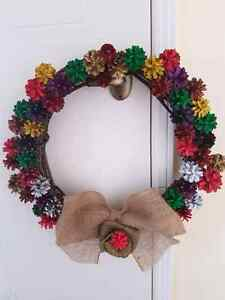 Pine cone wreaths Peterborough Peterborough Area image 1