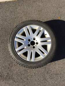 Winter Tires and Rims 18'' Excellent condition Gatineau Ottawa / Gatineau Area image 1