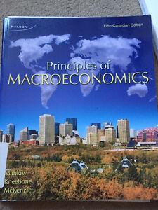 Principles of Macroeconomics 5th edition Kitchener / Waterloo Kitchener Area image 2
