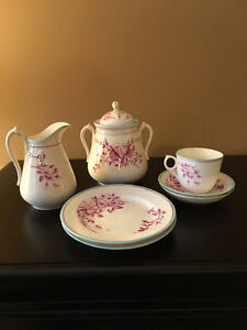 NEWLY REDUCED - Milk and Creamer Tea Cup Set
