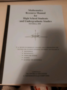 High School Math Guide for University of Waterloo