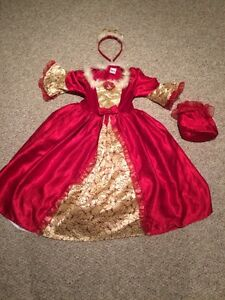 Disney Belle Costume Size 3/4 yrs