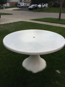Hauser Patio table