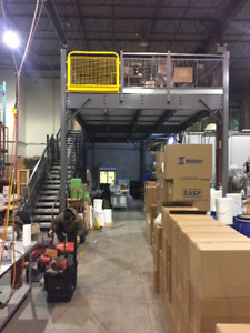 "Mezzanine Structures  - Create Extra Space By Building ""UP"""