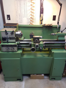 EMCO METAL LATHE, BRIDGEPORT TYPE VERTICAL KNEE MILLING MACH