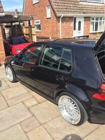 REBUILT ENGINE - TUNED -IMMACULATE GOLF TURBO