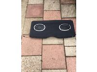 Renault Clio parcel shelf with vibe slick 6 by 9 420 watts