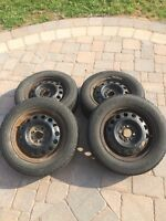 185 55 R14 Goodyear Nordic Studded Winter Tires