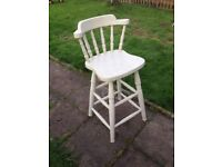 Painted Tall Chair