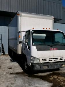 GMC Cube Van Truck Diesel 2007