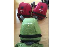 Littlelife small child's rucksack ladybird x 2 and turtle x 1