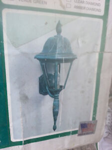 Beautiful Bronze Porch Light...Front or Back