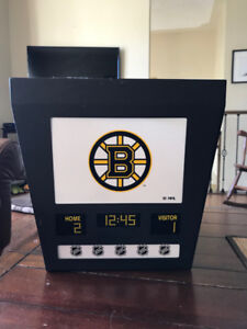 Boston Bruins Hockey Scoreboard Light
