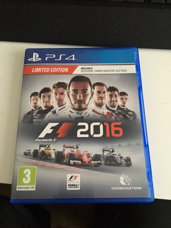 f1 2016 limited edition ps4 playstation 4 in penketh cheshire gumtree. Black Bedroom Furniture Sets. Home Design Ideas