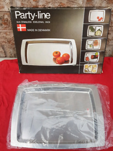 Stainless Steel Serving Tray NEW NIB
