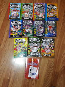 Captain Underpants /Diary of a wimpy kid