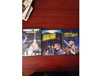 Family guy Star Wars DVD collection