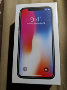 BRAND NEW SEALED APPLE IPHONE X 10 64GB FACTORY UNLOCKED