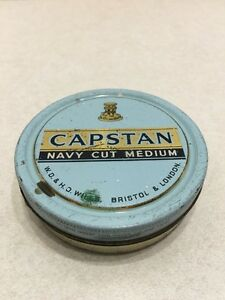 Vintage Rare Capstan Navy Cut Tobacco Tin