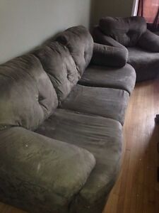 Matching Couch and Chair, Extra Chair NON-SMOKER