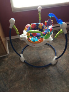 Ocean Wonder's Jumperoo-Music,Sounds,Folds,Heights,Washable,etc