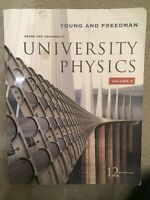 SEAR'S AND ZERMANSKY'S UNIVERSITY PHYSICS VOL. 2 12TH EDITION