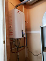 SAVE ON WATER HEATERS (TANK OR TANKLESS)