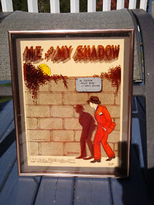 "Vintage 3-D picture "" Me and My Shadow "" date 1972"