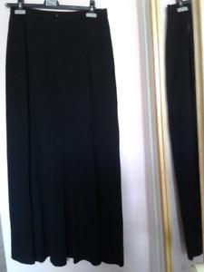 Jigsaw black maxi skirt made in UK